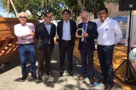 Astilleros de Mallorca recibe el premio Marcial Sánchez Barcáiztegui