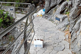 Medi Ambient replica que la limpieza del Torrent de Pareis 'no es cosa suya'