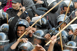 Cientos de detenidos en Egipto en las protestas contra el régimen de Mubarak