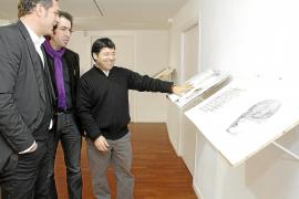 Los libros pictóricos de Florit Nin se pueden hojear en la galería 'Maneu'