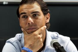 El tenista Rafael Nadal: «¿Si he vuelto? No me he ido a la China ni a ningún lado»
