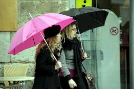 Balears, en alerta por lluvia y viento
