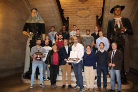 Cort rinde homenaje al Ca'n Ventura por su gran temporada en la Superliga y la Copa del Rey