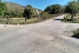 Restringido el paso de vehículos en el Parc Natural de Llevant para que no se estacione en el camino