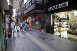 Más de la mitad de los pequeños y medianos comercios de Mallorca empeoran sus ventas en abril