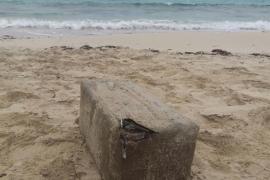 Localizan un fardo de hachís en una playa de Formentera