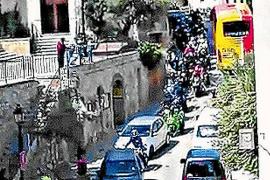 El alcalde de Banyalbufar dice que el pueblo no tiene por qué asumir el coste del paso de 5.000 motos
