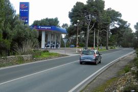 Dos atracadores con pistolas agreden al empleado de una gasolinera de Felanitx