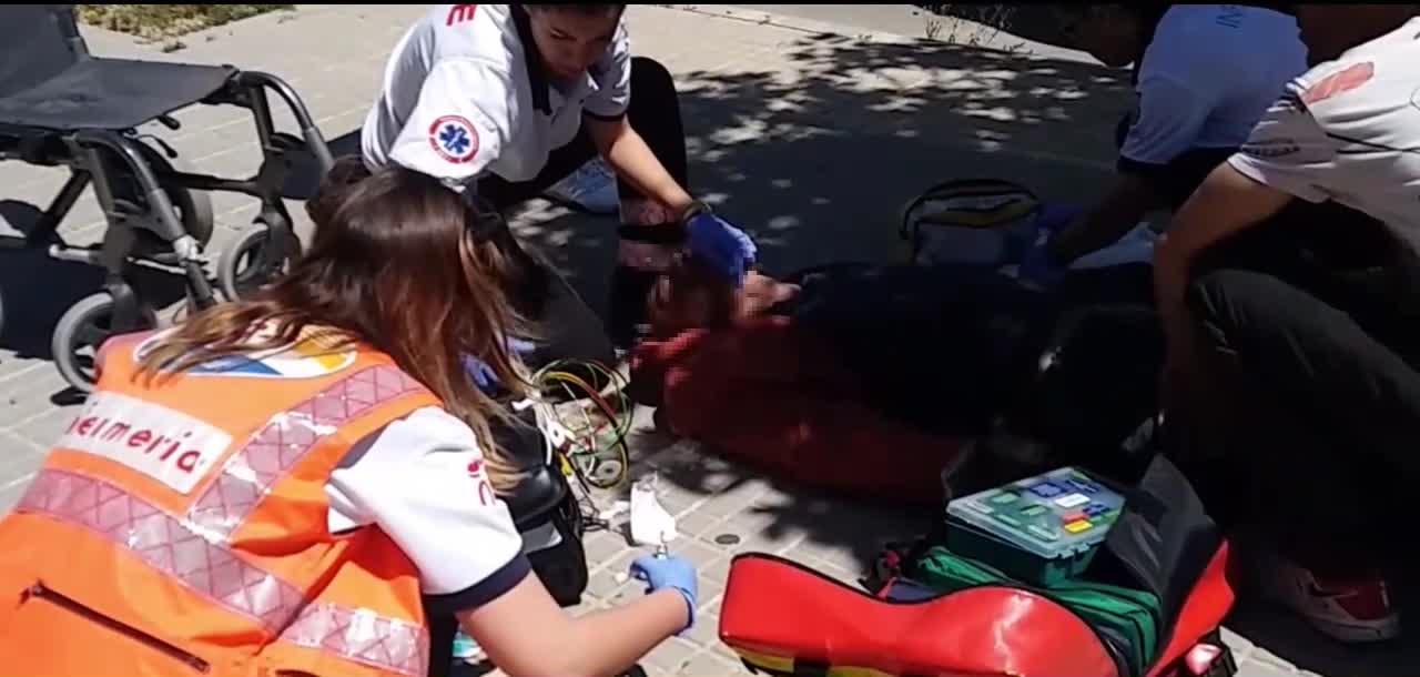 Salvan la vida a un hombre que sufrió una sobredosis en Palma