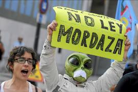La 'ley mordaza' aumenta un 34 por ciento las sanciones por orden público en Baleares