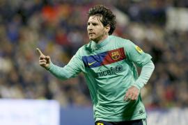 El Barcelona se venga del Hércules y suma decimoquinto triunfo consecutivo