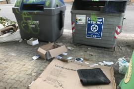 Siguen las basuras