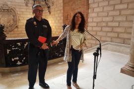La Policía Nacional incrementará un 12% el dispositivo de este verano en la Platja de Palma