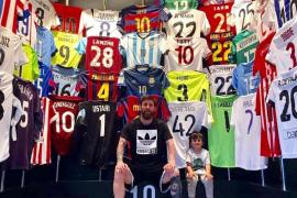 Las camisetas de Íker Casillas y Raúl, entre las preferidas de Leo Messi