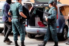 Una veintena de detenidos en la redada contra el narcotráfico en Mallorca