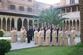 Concierto de la Capella Mallorquina en la Iglesia de Sant Nicolau