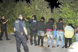 La prostitución ya es el gran problema de la noche en Santa Ponça y Magaluf