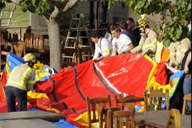 Acusan de homicidio por imprudencia a los responsables del castillo hinchable en el que murió una niña