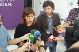 Varios diputados de Podemos firman un manifiesto en favor de Laura Camargo
