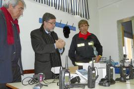 Los Bombers de Mallorca estrenan un innovador sistema de comunicaciones