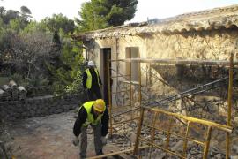 Los chalets de Llucalcari estarán demolidos en mayo