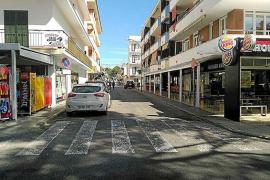 Quejas por obras en verano en el centro de Cala Rajada