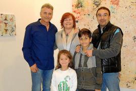 Alaminos presenta su obra en la galería Dionís Bennàssar