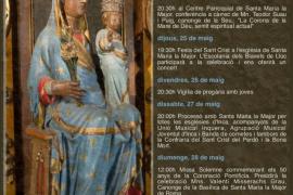Santa Maria la Major celebra los 50 años de la coronación de la Virgen