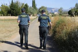 Encuentran a un hombre muerto en Sencelles con signos de violencia