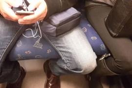 Guerra abierta contra el despatarre de algunos hombres en el transporte