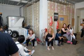 Asamblea de los trabajadores de la limpieza