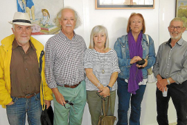 Joan Lacomba expone su obra en Selva