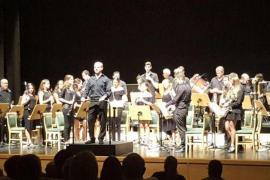 La Banda de Música de Sant Llorenç ofrece un concierto de película en Sa Màniga