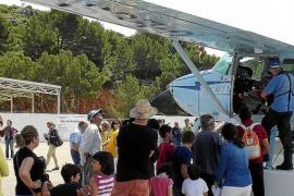 Defensa da carpetazo al encuentro de hidros civiles en Pollença