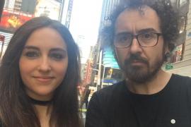 El teclista de La Oreja de van Gogh se salva «por dos metros» del atropello de Times Square
