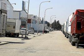 Aprobada la ampliación del párking de camiones del polígono de Marratxí