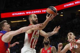 Spanoulis 'resucita' para meter al Olympiacos en la final