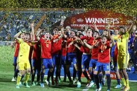 Los penaltis coronan a España nueve años después