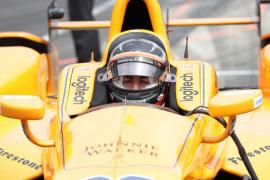 Fernando Alonso termina cuarto en el Fast Friday y sueña con la 'pole' en Indianápolis