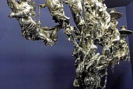 Los candelabros del museo de la Catedral se exponen en el Vaticano