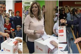 La participación, a las 14:00 horas, en las primarias del PSOE se eleva al 51 por ciento