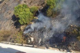 Un incendiario le prende fuego dos veces en una semana al cuartel de Son Busquets
