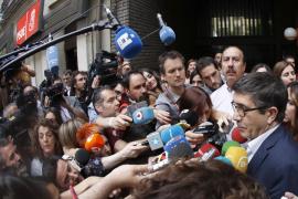 Patxi López llama al trabajo conjunto con Sánchez a la cabeza