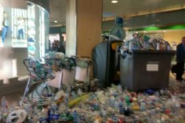 """La Pimeef exige una inmediata solución a la """"dantesca"""" situación del aeropuerto"""
