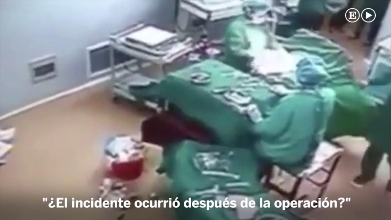 Un médico y una enfermera, a puñetazo limpio en el quirófano