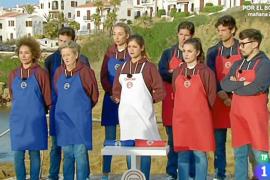 Desastre gastronómico en el MasterChef sobre la cocina de Menorca