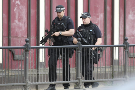 Londres incrementa sus medidas de seguridad tras el atentado de Manchester