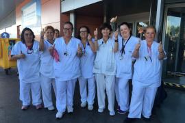 Empiezan a limpiar el aeropuerto de Ibiza tras siete días de huelga