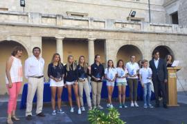 El Consell entrega distinciones a 87 jóvenes deportistas por los éxitos logrados la pasada temporada