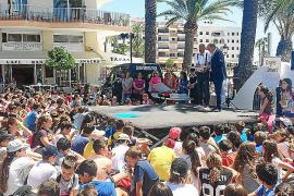 Los ciudadanos del futuro aprenden civismo en el quinto Congreso Infantil de Santa Eulària